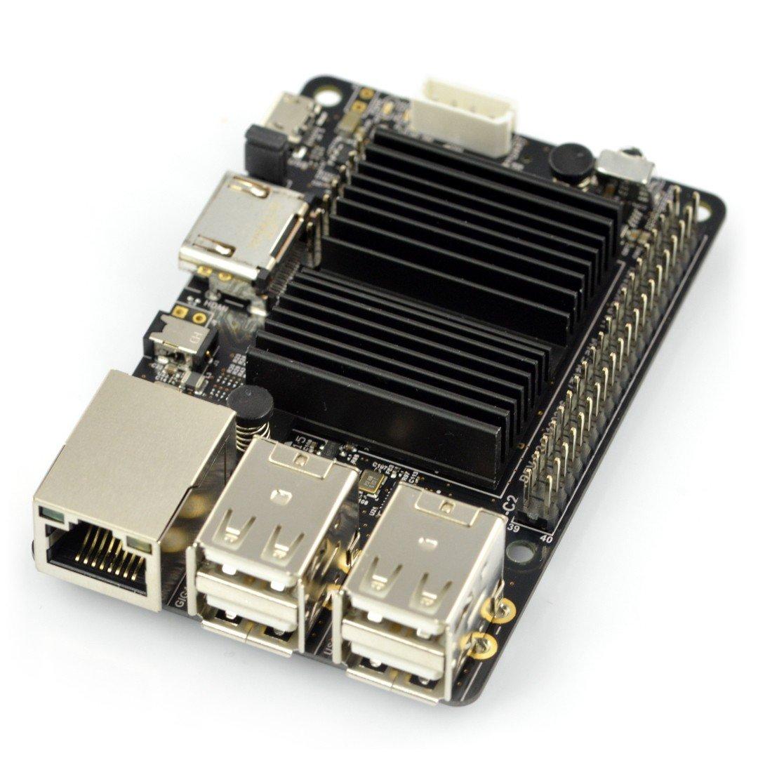 Odroid C2 - Amlogic S905 Quad-Core 1.5GHz + 2GB RAM