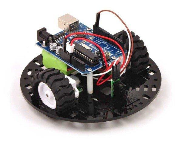Robot z Arduino zbudowany w oparciu podwozie Pololu