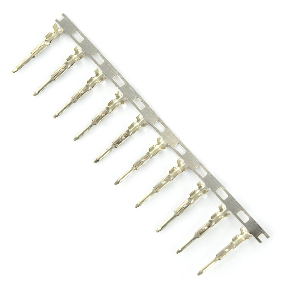 Pin męski do obudowy gniazda raster 2,50mm - 10szt.