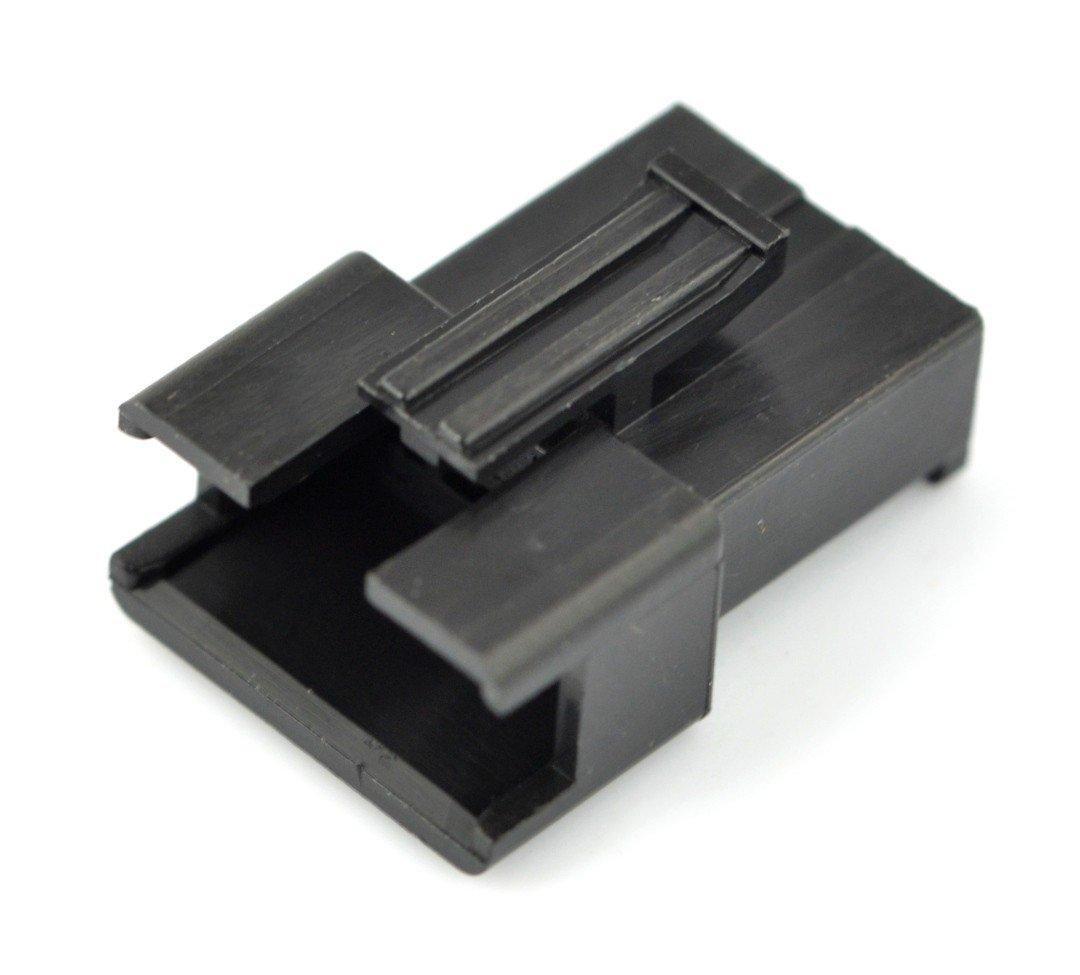 Obudowa wtyku męskiego 3-pinowego - raster 2,5mm - 5szt.